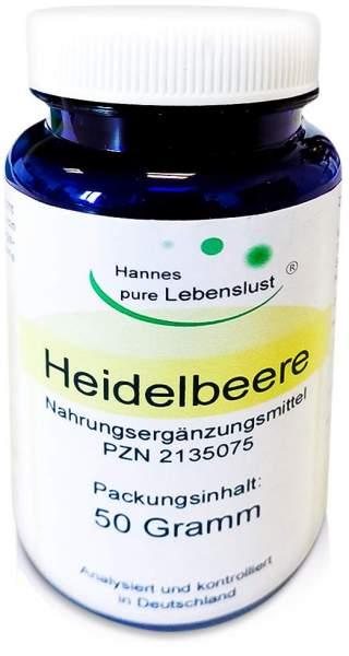 Heidelbeer Pulver