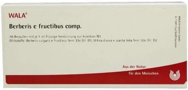 Berberis E Fructibus Comp. Ampullen