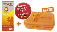 Nurofen Junior Fieber- & Schmerzsaft Erdbeer 40mg-ml 100ml + gratis Brotbox