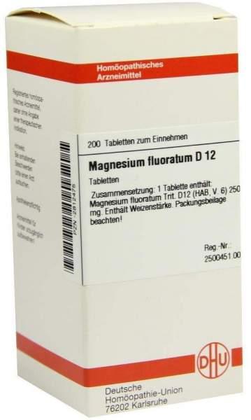 Dhu Magnesium Fluoratum D12 Tabletten 200 Tabletten