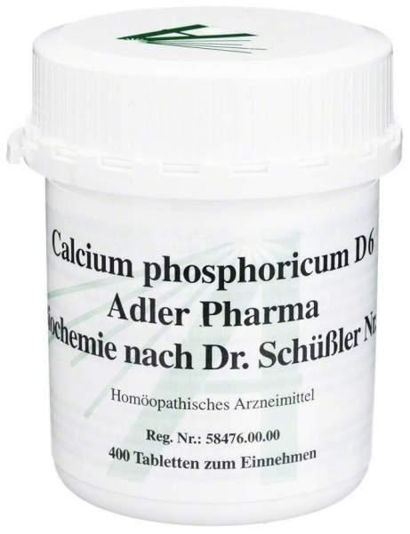 Biochemie Adler 2 Calcium Phosphoricum D6 400 Tabletten