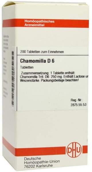 Chamomilla D6 200 Tabletten