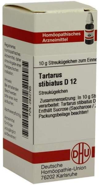 Tartarus Stibiatus D 12 Globuli