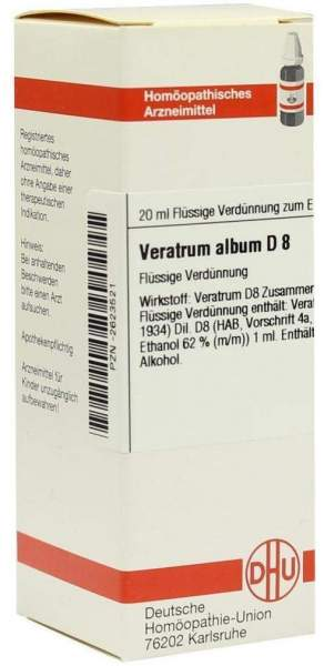 Veratrum Album D 8 Dilution