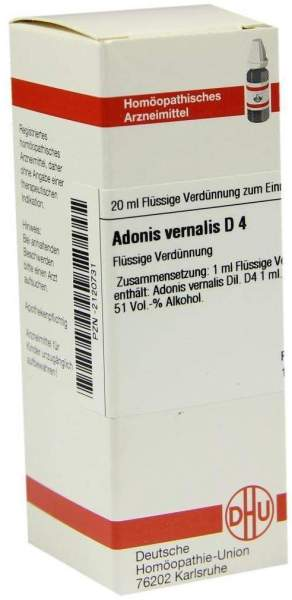 Adonis Vernalis D4 Dhu 20 ml Dilution