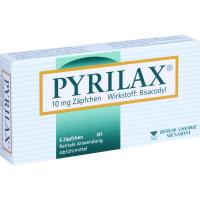 Pyrilax Suppositorien 10 mg 6 Zäpfchen