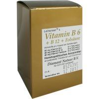 Vitamin B 6 + B 12 + Folsäure 60 Kapseln