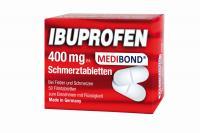 Ibuprofen Medibond 400mg Schmerztabletten 50 St.