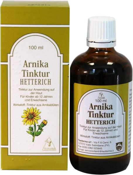 Arnikatinktur Hetterich 100 ml