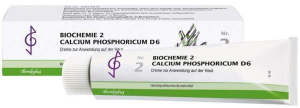 Biochemie 2 Calcium Phosphoricum D 6 100 ml Creme