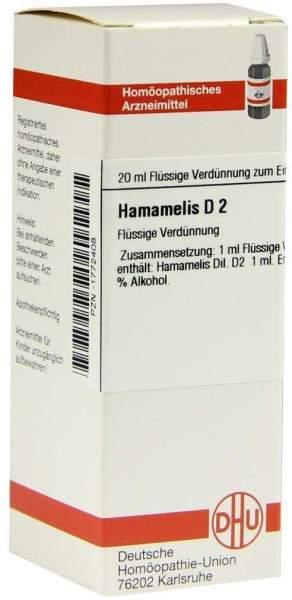 Hamamelis D2 Dhu 20 ml Dilution