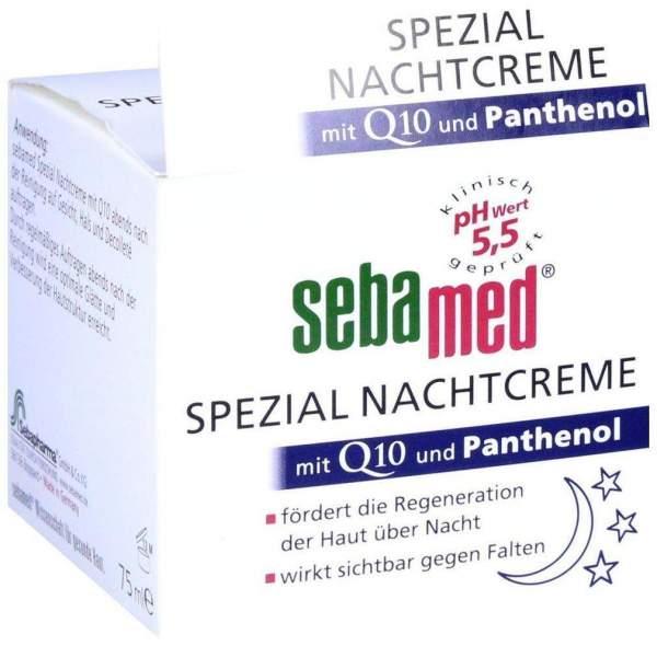 Sebamed Spezial Nachtcreme Q 10 75 ml