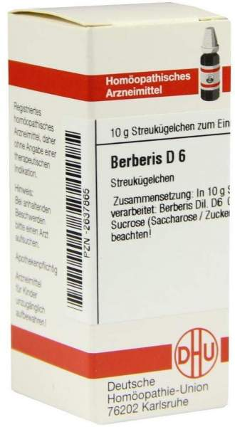 Berberis D6 10 G Globuli