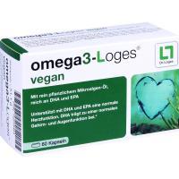 Omega 3-Loges vegan 60 Kapseln