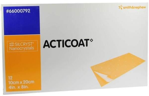Acticoat 10 X 20 cm Antimikrobielle Wundauflage