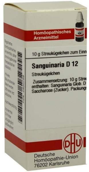 Dhu Sanguinaria D12 10 G Globuli