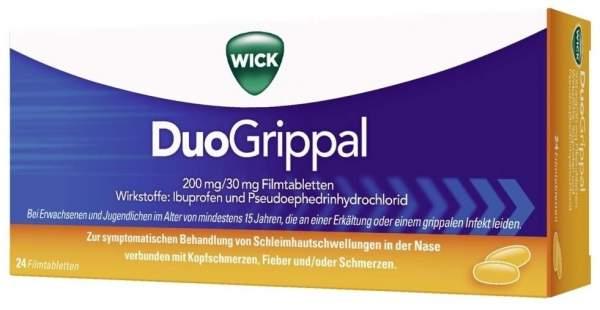 WICK Duogrippal 200 mg 30 mg 24 Filmtabletten