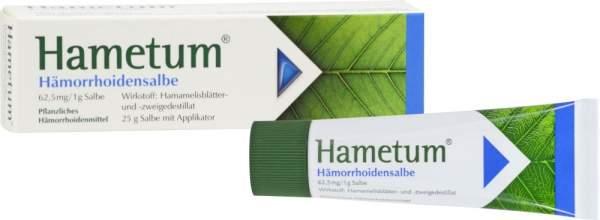 Hametum Hämorrhoiden Salbe 25 g