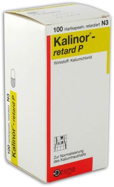 Kalinor retard P 100 Kapseln