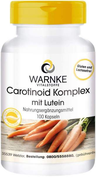 Carotinoid Komplex Kapseln