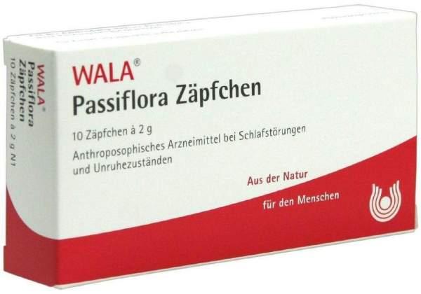 Passiflora 10 X 2 G Zäpfchen
