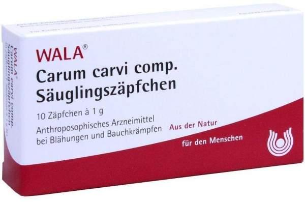 Carum carvi comp. 10 x 1 g Säuglingszäpfchen