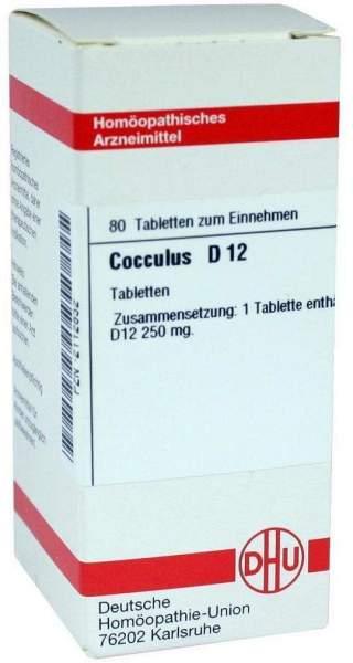 Cocculus D 12 80 Tabletten