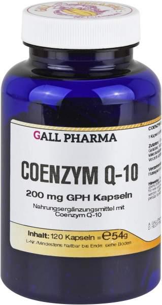 Coenzym Q10 200 mg Gph 120 Kapseln