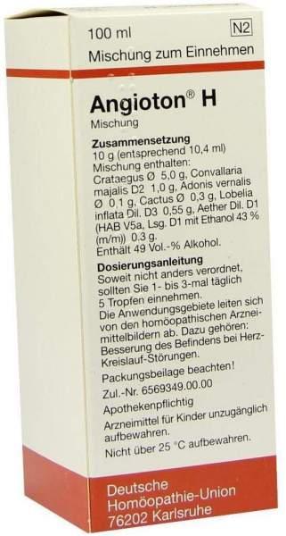 Angioton H 100 ml Liquidum