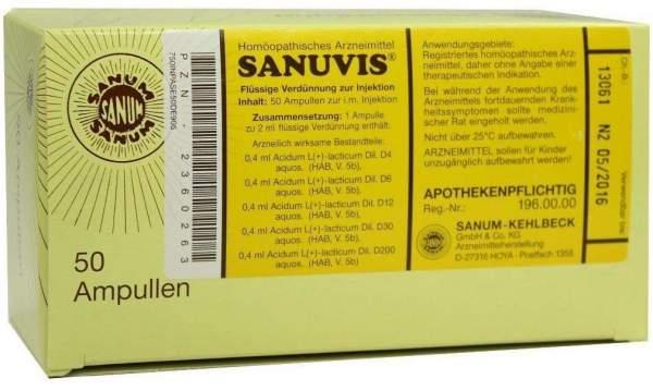 Sanuvis Injektion 50 X 2 ml Ampullen