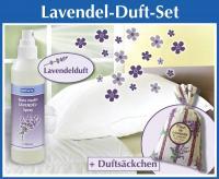 Lavendel Duft-Spray 250 ml inkl. 1 Lavendelsäckchen