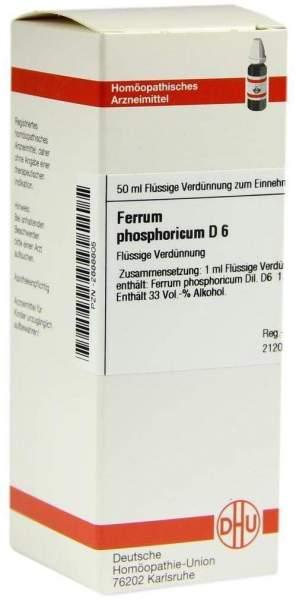 Ferrum Phosphoricum D 6 50 ml Dilution