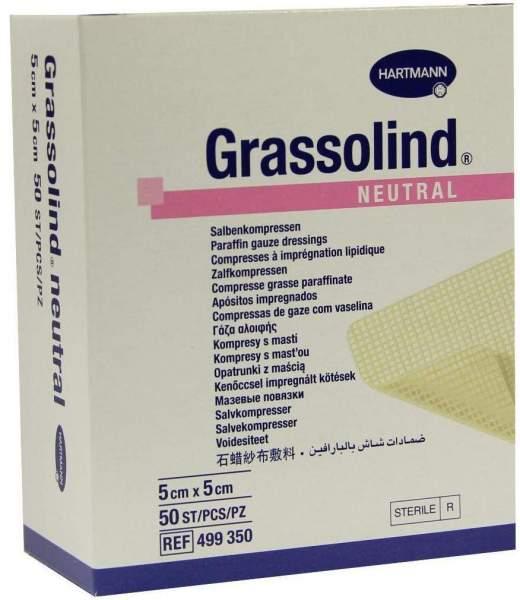Grassolind Neutral 5 X 5 cm Steril 20 Stück