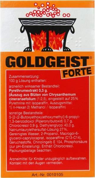 Goldgeist forte 75 ml flüssig