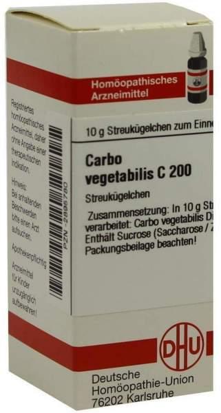 Carbo Vegetabilis C 200 Globuli