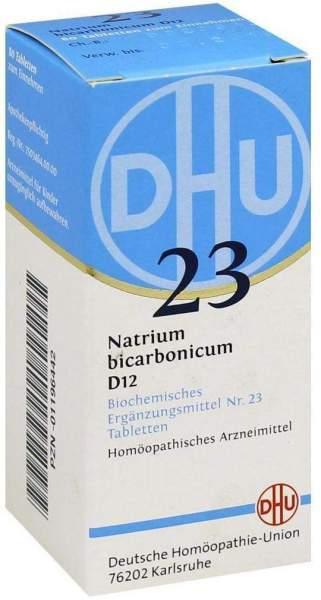 Biochemie Dhu 23 Natrium Bicarbonicum D12 Tabletten 80 Tabletten