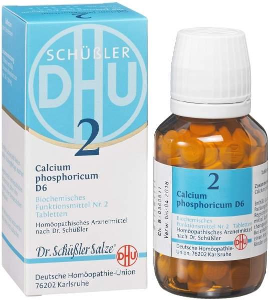 Biochemie DHU 2 Calcium phosphoricum D6 80 Tabletten