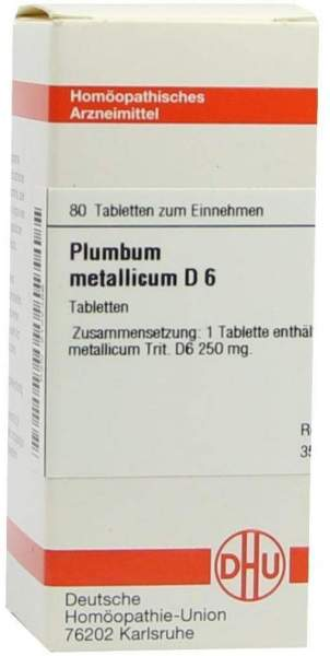 Plumbum Metallicum D 6 Tabletten