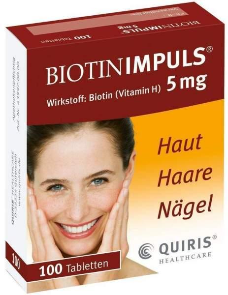 Biotin Impuls 5 mg 100 Tabletten