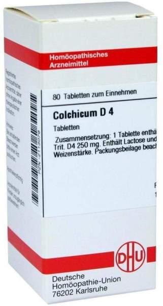 Colchicum D 4 80 Tabletten