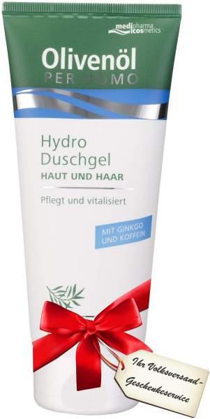 Olivenöl Per Uomo Hydro Duschgel 200 g mit Geschenkverpackung