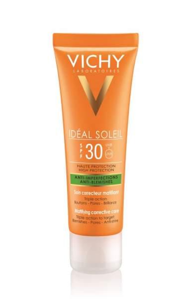 Vichy Ideal Soleil Anti Unreinheiten LSF 30 50 ml Creme