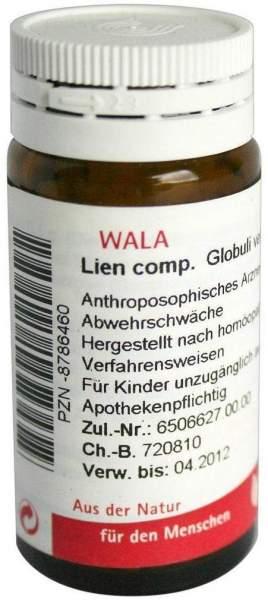 Wala Lien Comp. Globuli Velati 20 G