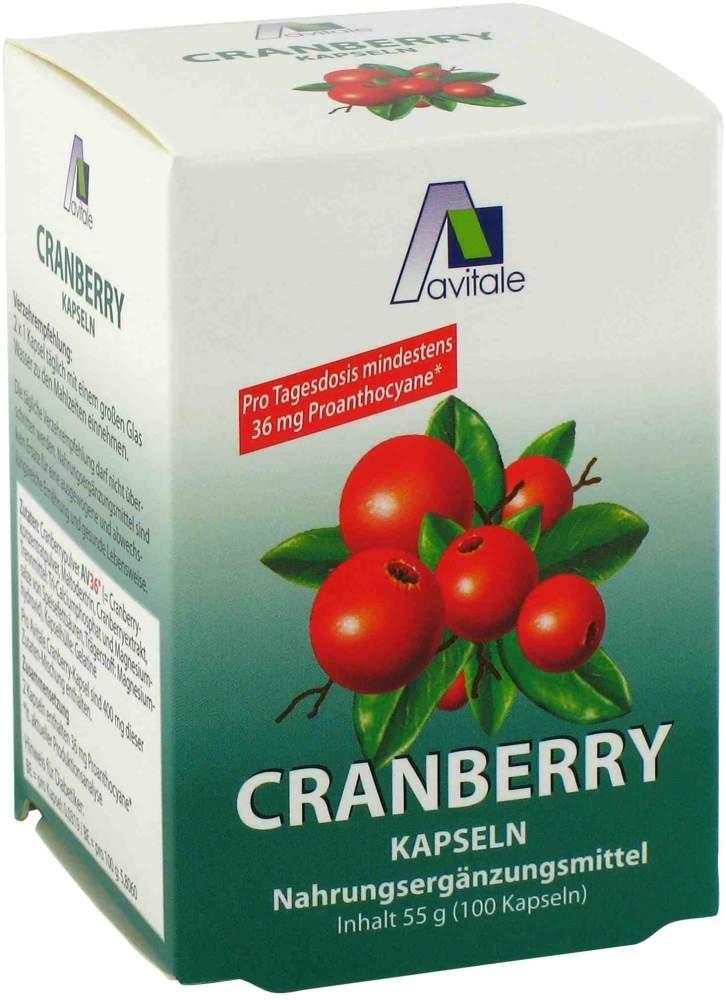Cranberry Kapseln 400 mg 100 Stück