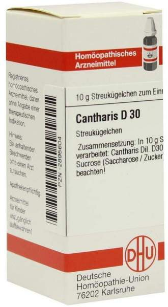 Cantharis D30 10 G Globuli