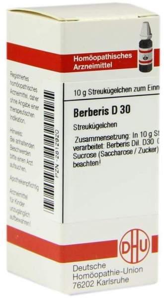 Berberis D30 10 G Globuli