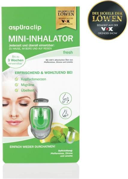 Aspuraclip Mini Inhalator fresh 1 Stück