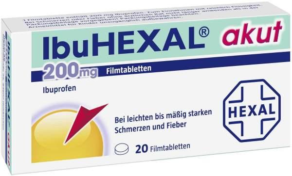 Ibuhexal Akut 200 mg 20 Filmtabletten