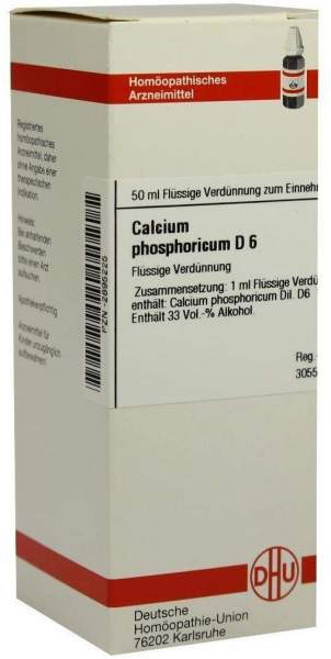 Calcium Phosphoricum D6 50 ml Dilution