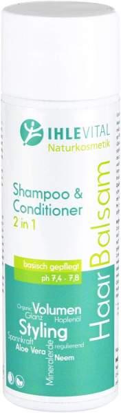 Basisches Haar Balsam Shampoo